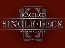 Single Deck Blackjack Professional Series
